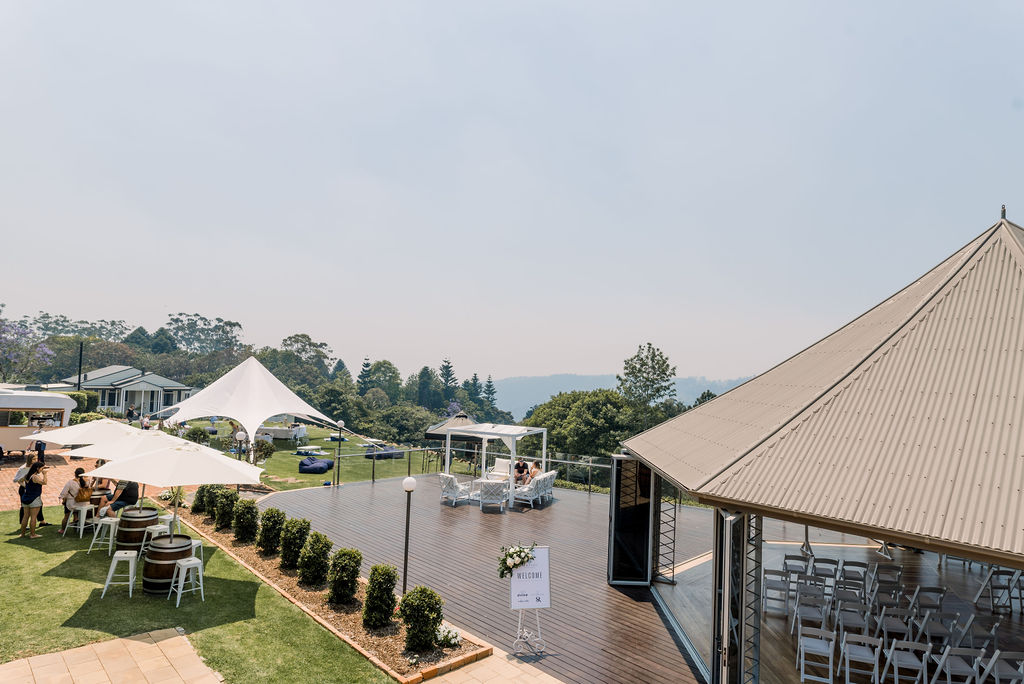 Hampton Estate Wines Wedding Venue Mount Tamborine
